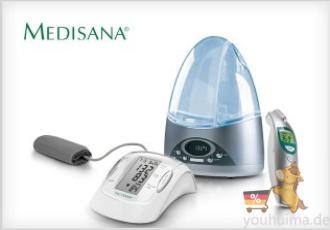 MEDOSANA血压仪体温计蒸脸器等三五折起!