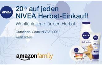 亚马逊student和family成员购买nivea一律8折,美宝莲送人气眼线笔fashion bag啦!