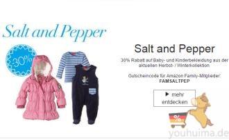 salt and pepper新款童装7折,德国亚马逊特别优惠