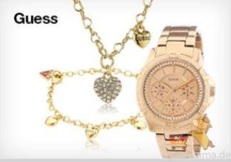 GUESS共计100多件最新手表、配饰任君挑选