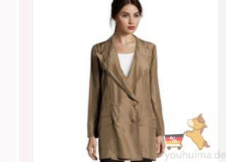 奢侈品品牌Dolce&Gabbana女装全丝绸西装外套低至四折!