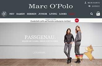 瑞典高档休闲服饰品牌Marc O'Polo折上8折