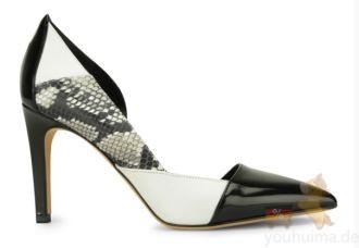 Hugoboss蛇皮女性细跟鞋仅需三折