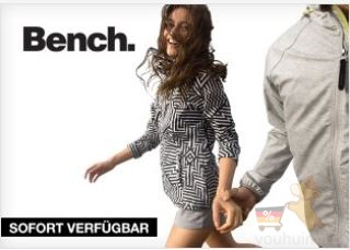 Bench男女成衣低至四折啦