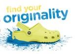 Crocs最新家庭款青色经典造型洞洞鞋及其价格夺人眼球