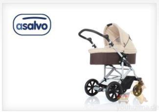 Asalvo婴幼儿手推车学步车婴儿床四折起