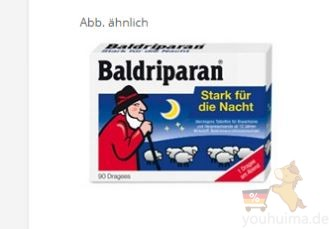 助眠神器Baldriparan只需26,49欧