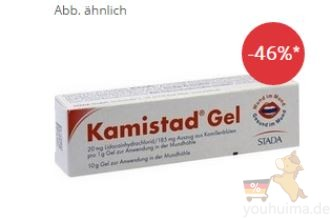 Kamistad Gel口腔疾病救星 4,08欧