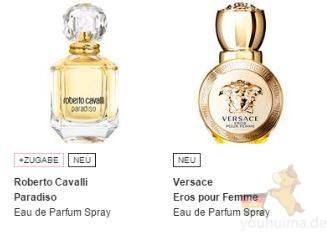 Parfumdreams 新客户下单多个优惠码可用