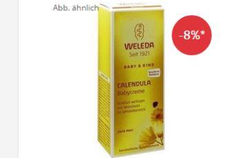 WELEDA维蕾德金盏花婴儿臀部膏只需5,46欧