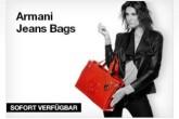 Armani美包促销:72,95欧起