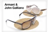ARMANI&JOHN GALLIANO太阳眼镜特卖