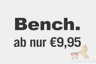 Bench男女休闲服运动手表8,95欧起
