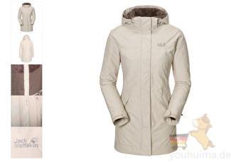 Jack Wolfskin狼爪长款冲锋衣原价260欧,现价仅需150,60欧