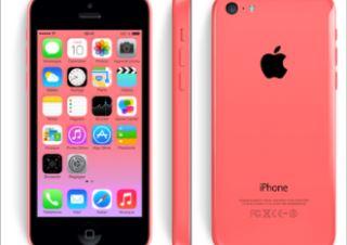 苹果APPLE手机5C小粉色仅需344,99欧