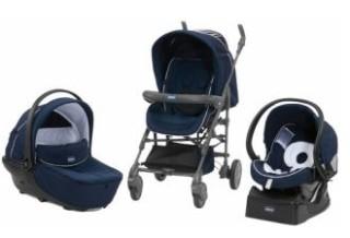 Chicco智高婴儿手推车三件套原价649欧,降至421,85欧