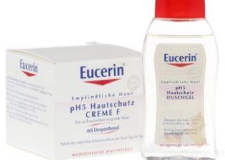 Eucerin优色林PH5均衡调理面霜只需13,85欧,赠沐浴乳