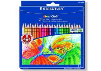 德国staedtler24色彩色铅笔仅售5.39欧
