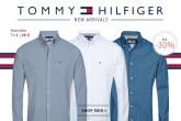 TOMMY HILFIGER男士长袖衬衣短袖POLO衫39欧起