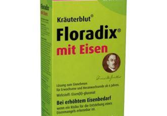 Floradix补铁糖浆500ml仅需11,99欧