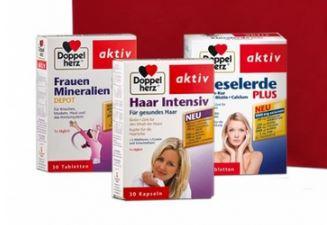 双心保健品女性礼包82折,三盒仅售12.79欧