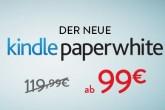 仅到8月2号,kindle电纸书降至45欧,kindle paperwhite只要99欧