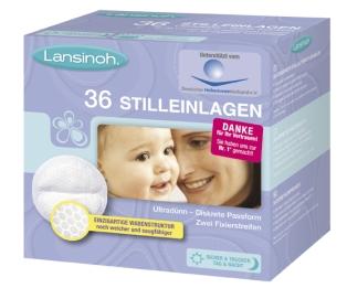 宝妈必备Lansinoh一次性防溢乳垫 36片仅5欧元