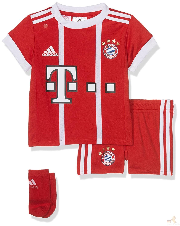 拜仁慕尼黑球迷正品儿童足球球衣7折全套35欧元起