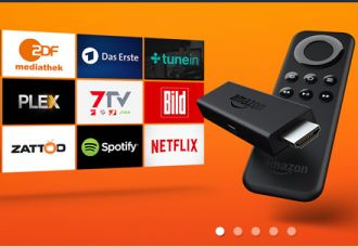 Amazon fire tv降到34欧啦