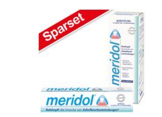 meridol保护牙齿预防牙龈炎口腔护理套装上市啦
