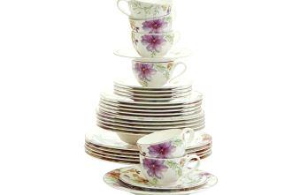 正宗德国维宝Villeroy & Boch 6人份18件套咖啡杯盘只要169欧