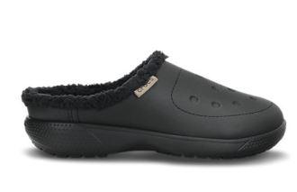 crocs推出冬季带棉绒新款洞洞鞋