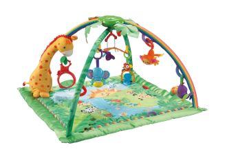 原价94,99欧的Fisher费雪热带雨林豪华婴儿爬行地毯降至54,99欧