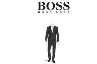 hugo boss男士纯羊毛西装折后只要274欧