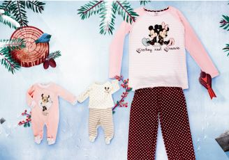 Disney迪斯尼婴幼儿服装、亲子家居服全场6欧起