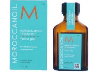 Moroccanoil神奇的摩洛哥坚果护发油,125毫升大容量装还送沙滩包