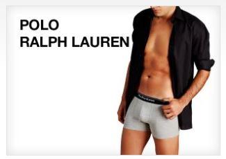 POLO RALPH LAUREN 拉夫劳伦男士纯棉内衣裤袜七折起