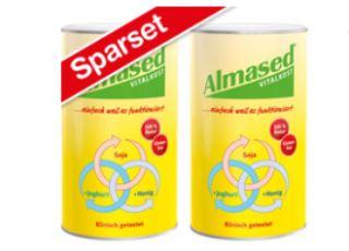 Almased 代餐蛋白粉特价优惠,两盒仅售33,49欧