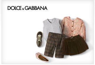 黑五特惠:DOLCE &GABBANA童装、女士高级时装两折优惠