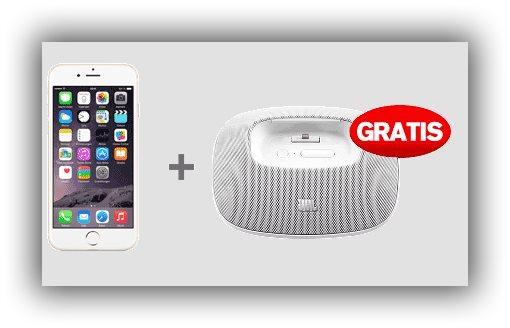 黑五当天买apple 6或者6s手机送JBL蓝牙无线音箱