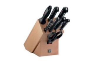 德国亚马逊双立人Twin Gourmet9件套刀4折