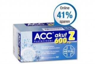 德国Hexal Acc止咳消痰泡腾片低至6,99欧