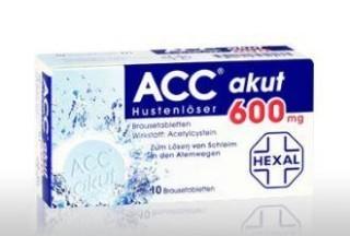 在docmorris买ACC akut止咳消痰泡腾片还送充气枕头一个
