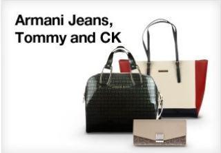 Armani Jeans、CK以及Tommy美包四折特惠