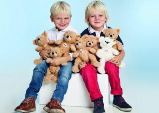 德国steiff金耳扣最正统的泰迪熊,折后只要26欧啦