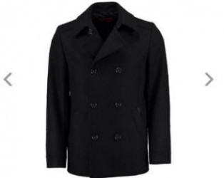 hugo boss男士商务羊毛短外套77折仅售229欧