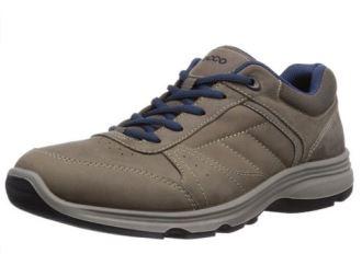 原价120欧爱步ECCO LIGHT真皮男士户外鞋仅售55欧起