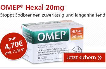 hexal omep抑制胃酸胶囊本周medpex药房5折特价