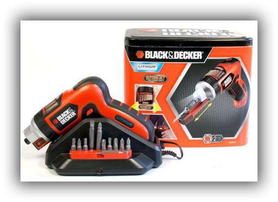 卖疯了!Black & Decker充电电动螺丝刀只要27.99欧元