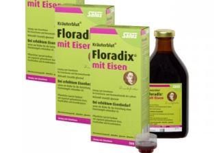 """三瓶Floradix""""铁元""""糖浆500ml折后仅需38,51欧"""